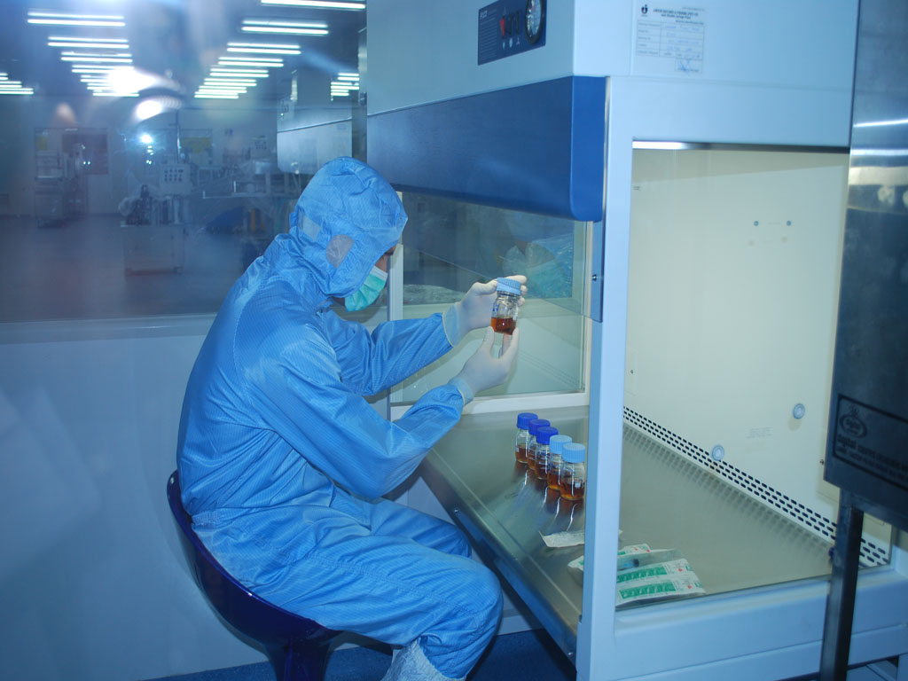 Fully equipped laboratory for quality testing