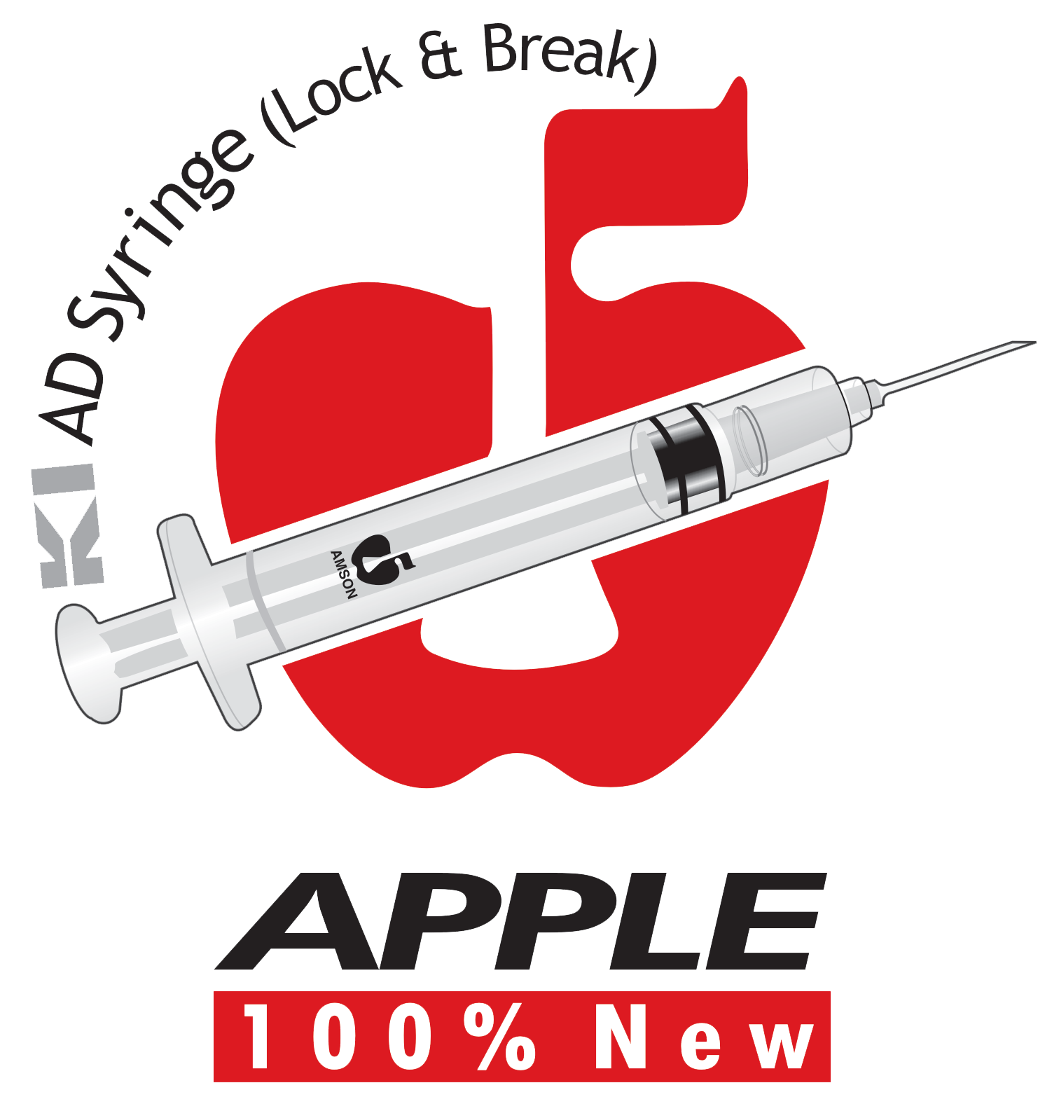 Apple Syringe